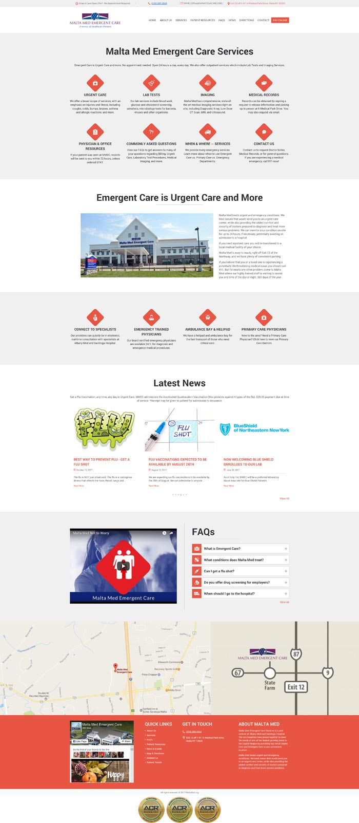 Malta Med homepage