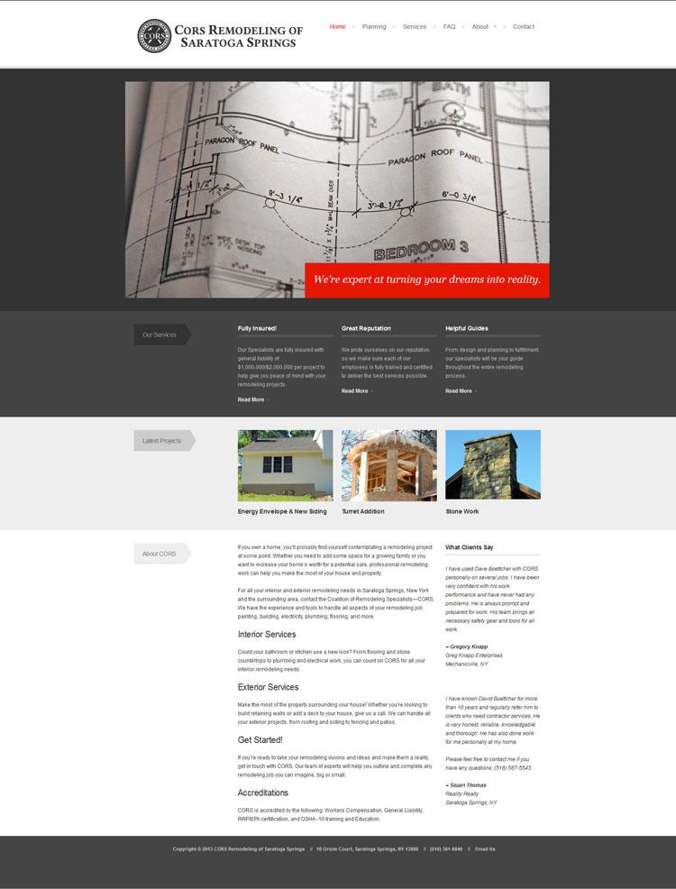 Cors Website