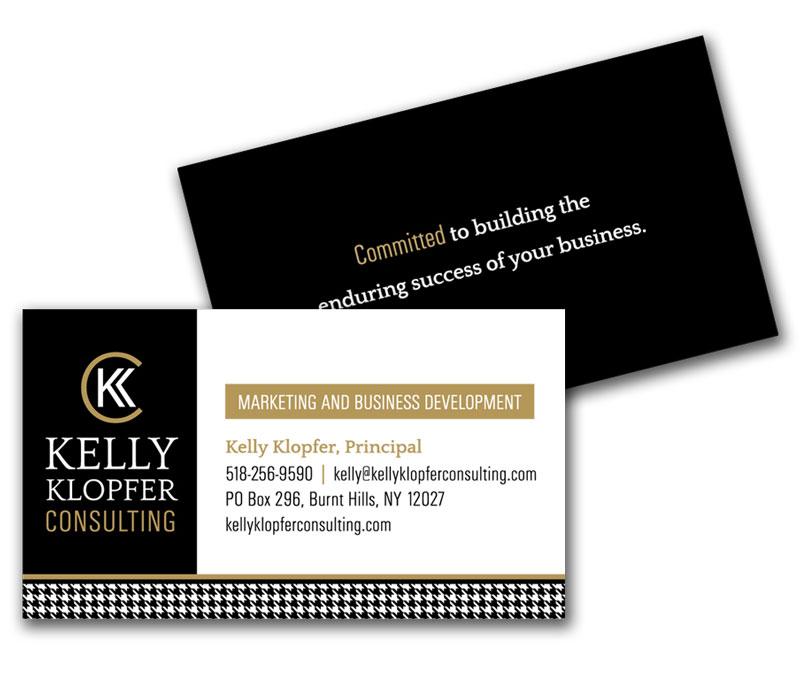 Kelly Klopfer Business Card