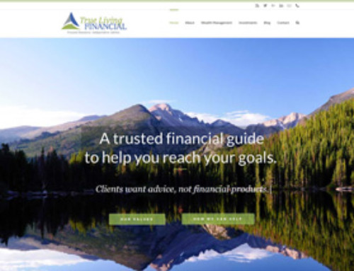 True Living Financial Website
