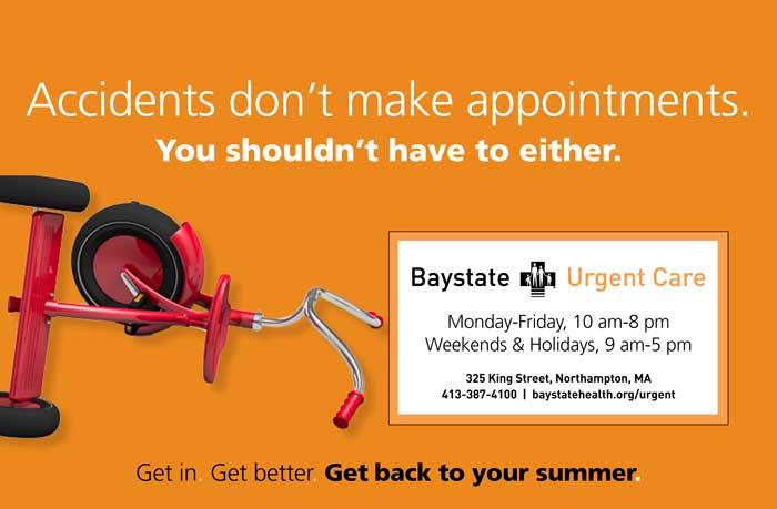 Baystate Urgent Care Magnet Postcard