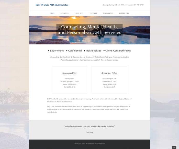 Bick Wanck, MD & Associates website