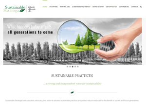 Sustainable Saratoga Website