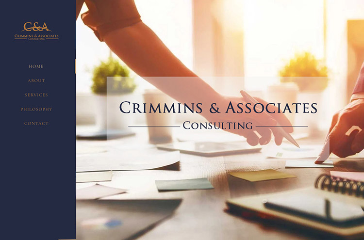 Crimmins Consulting website