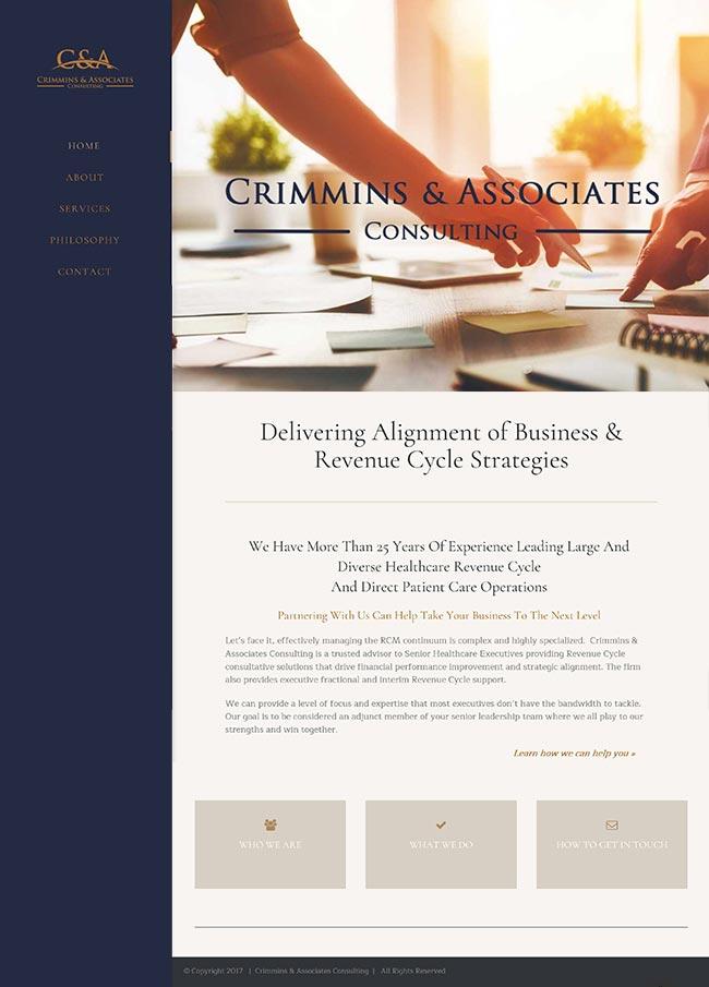 Crimmins & Associates website