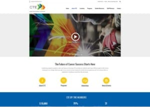 CTE homepage section