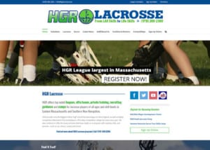 hgr homepage section